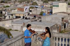 Martin Rothe für Musiker ohne Grenzen in Ecuador