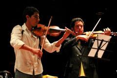 Martin Rothe bei einem Konzert in Guayaquil